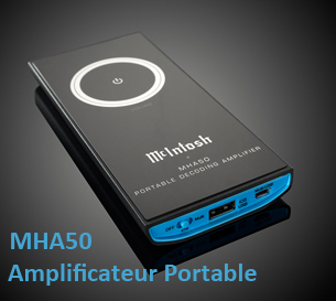Amplificateur Portable McIntosh MHA50