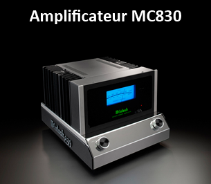 McIntosh Ampli MC830
